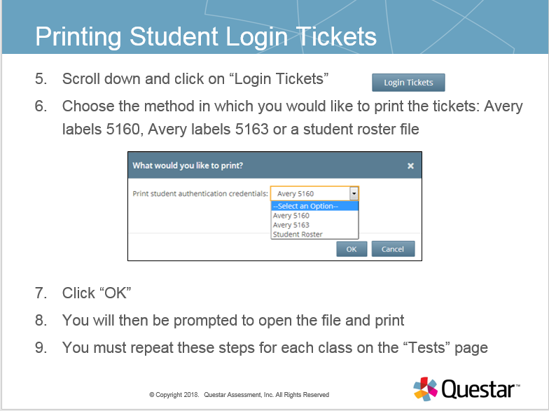 graphic relating to Avery Printable Tickets identified as Documentation: How in the direction of Print Scholar Login Tickets Computer system