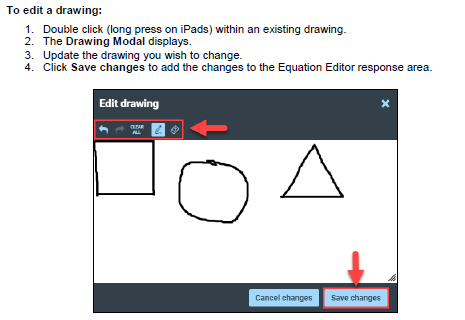 Documentation Equation Editor Drawing Tool Quick Reference Guide